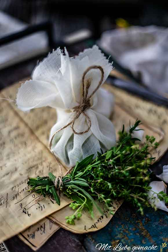 Bouquet garni zum Kochen