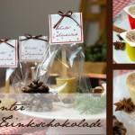 Die Weihnachtszeit versüßen - Winterschokolade selber machen