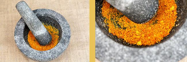 Orangenzeiten zerkleinern - Naturkosmetik DIY