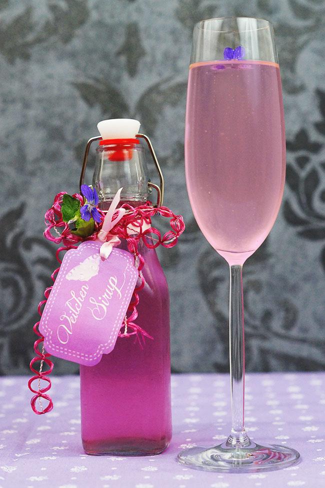 Veilchensirup - Mit Liebe gemacht
