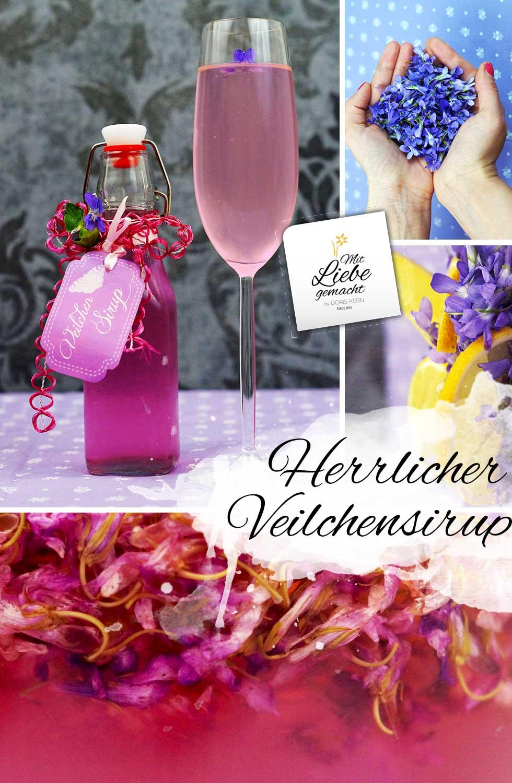 feiner Veilchensirup - herrlich!