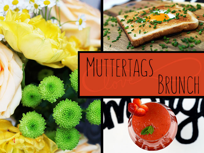 Muttertagsbrunch und DIY