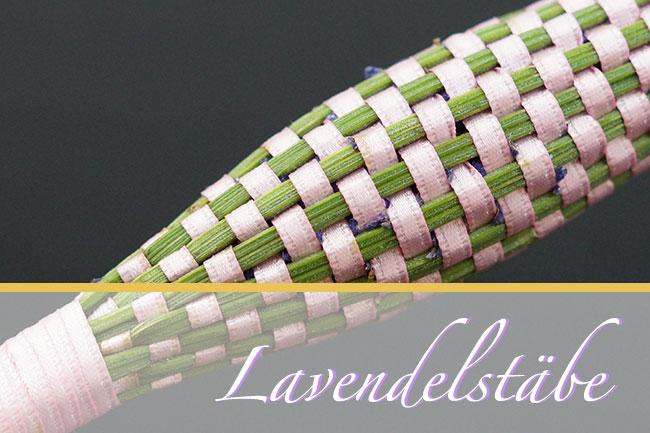 Lavendelstäbe Header