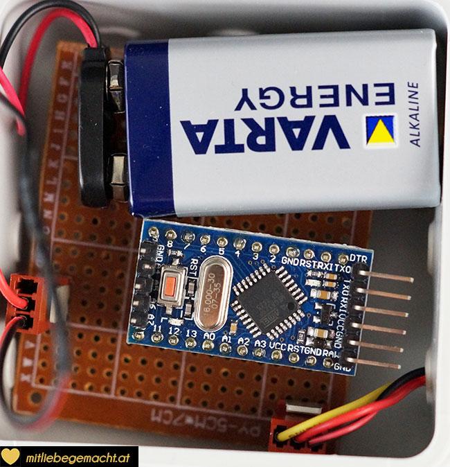 Arduino und Stromversorgung
