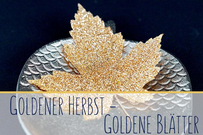 Goldene Blätter Header