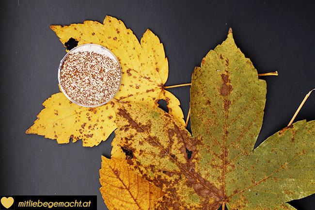 Material für die goldene Blätter