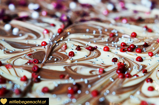 Schokolade kalt stellen