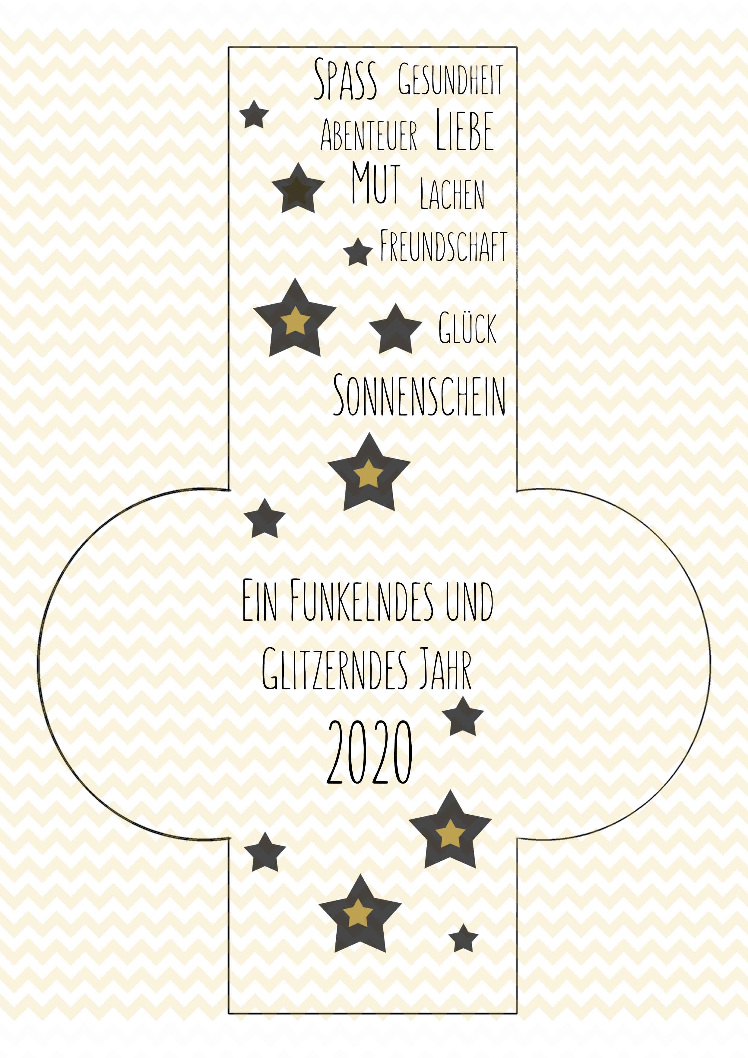Vorlage für 2020