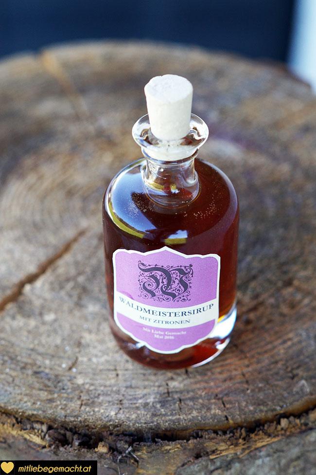 Waldmeistersirup mit fantastischem Geschmack