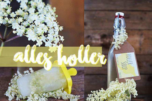 Holler-Minz Sirup selber machen