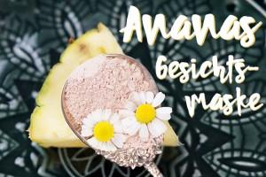 Ananas Gesichtsmaske mit Heilerde