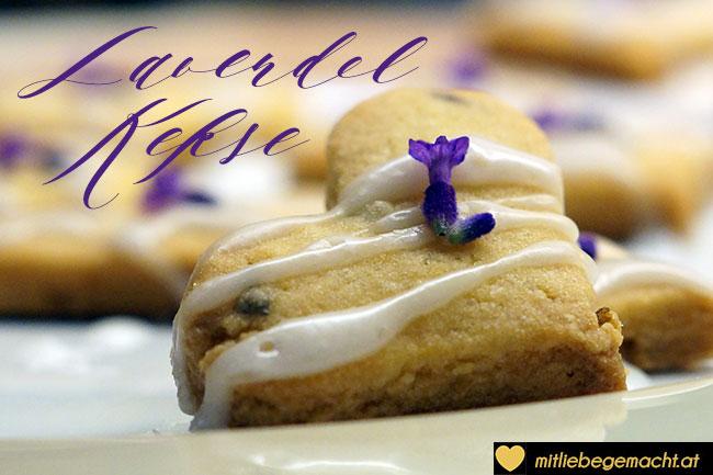 Lavendelkekse mit einer besonderen Würze