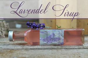 Lavendelsirup selber machen
