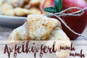 Lecker schmecker Apfelkipferl selber machen