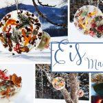 frostige Schönheit - Eismandalas selber machen