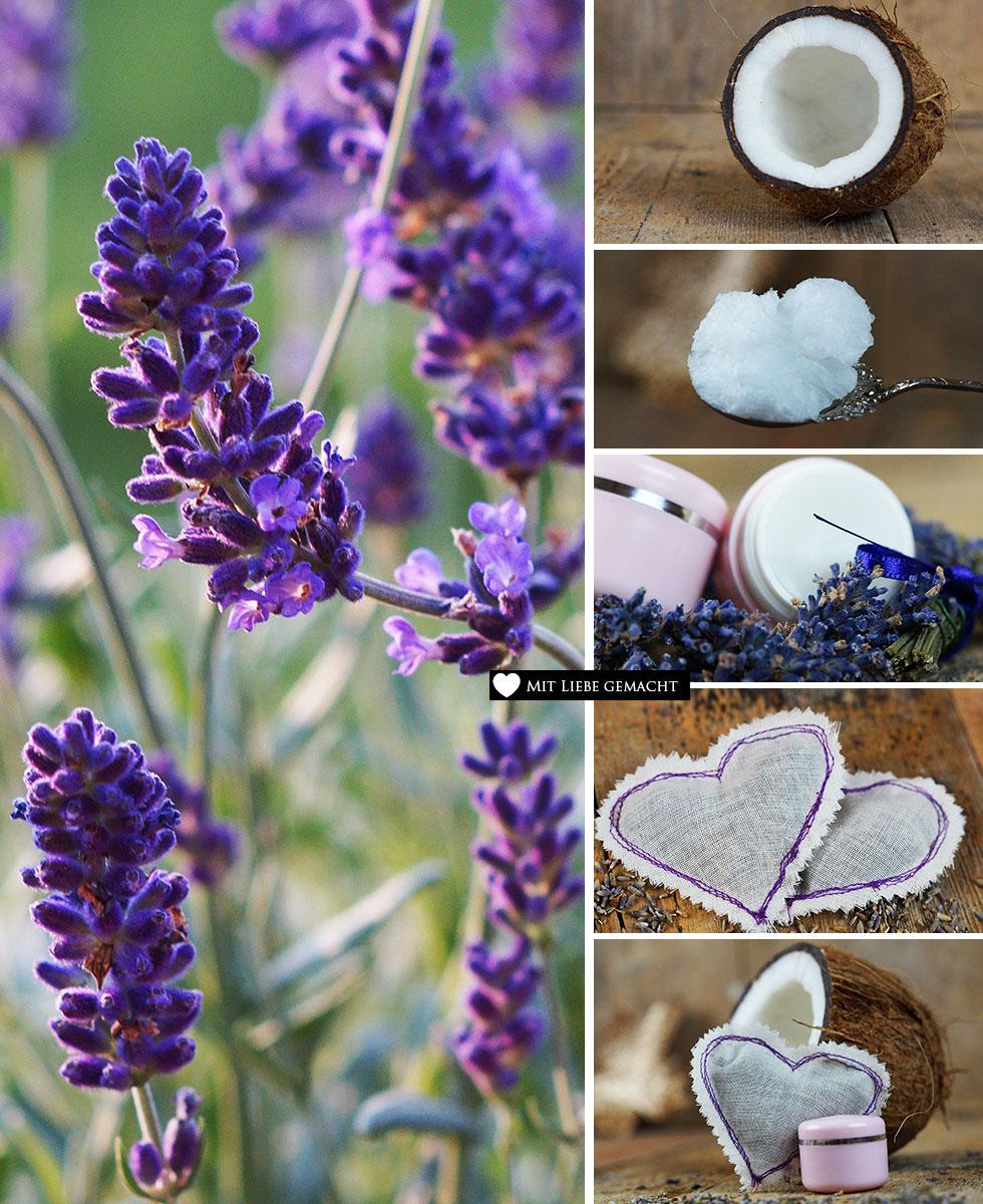 Lavendelmazerat und Gute-Nacht Kissen selber machen