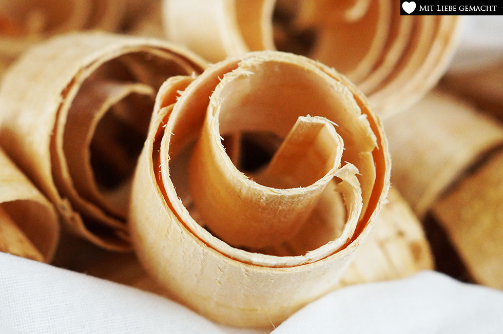 duftende Zirbenlocken garantieren für immer frischen Duft
