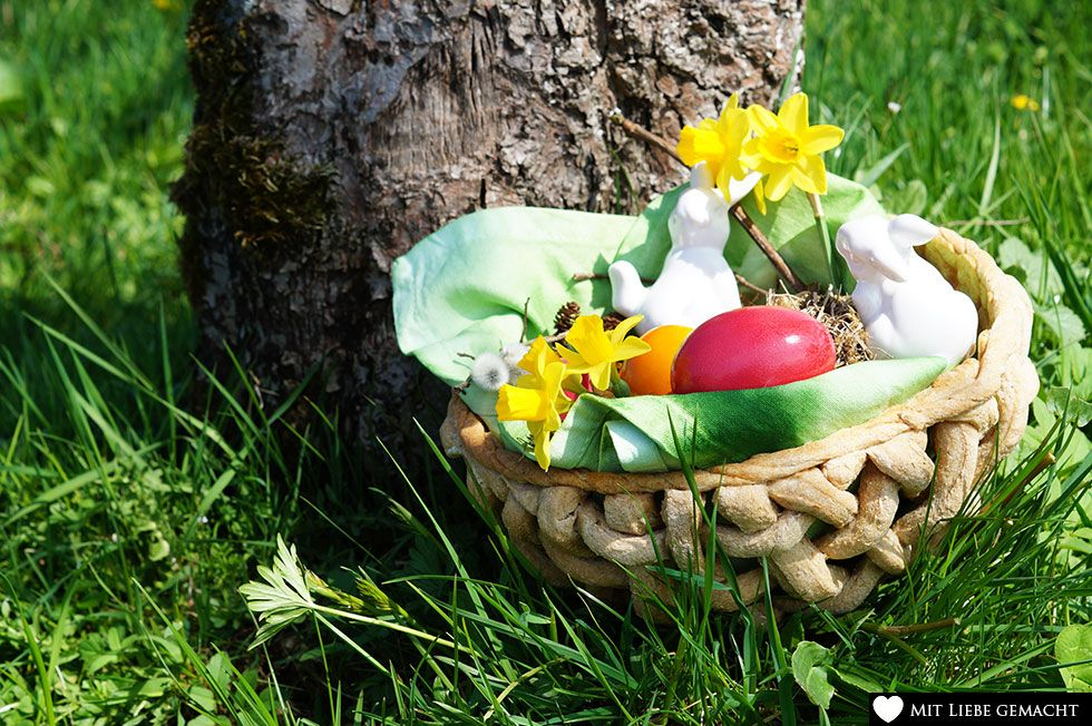So hilft man dem Osterhasen doch gerne