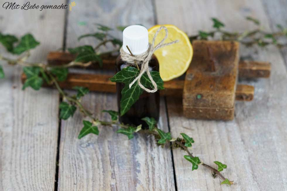 Efeuöl für eine schöne, straffe Haut