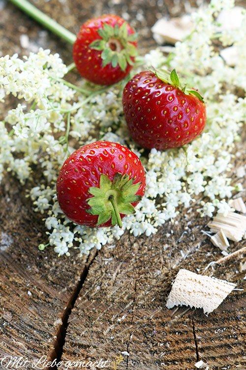 fruchtig-süße Erdbeeren