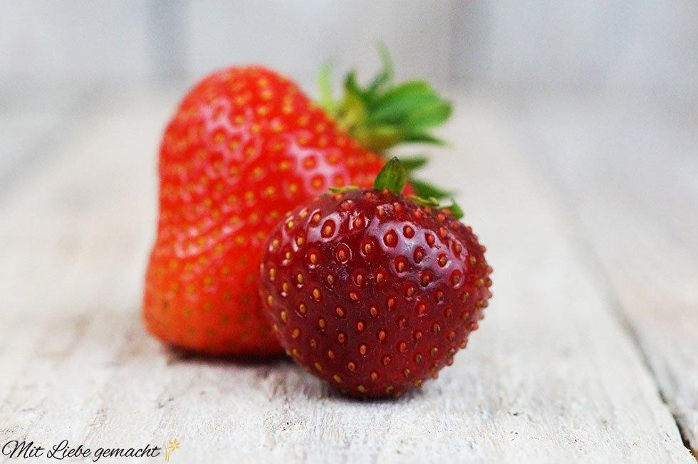 vielseitige Erdbeeren