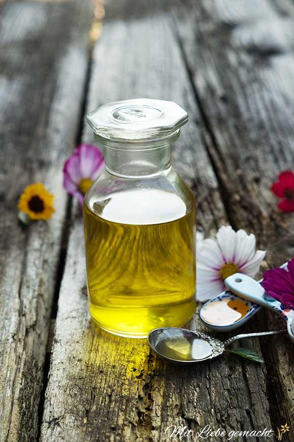 Sonnenblumenöl eignet sich gut zum Ölziehen