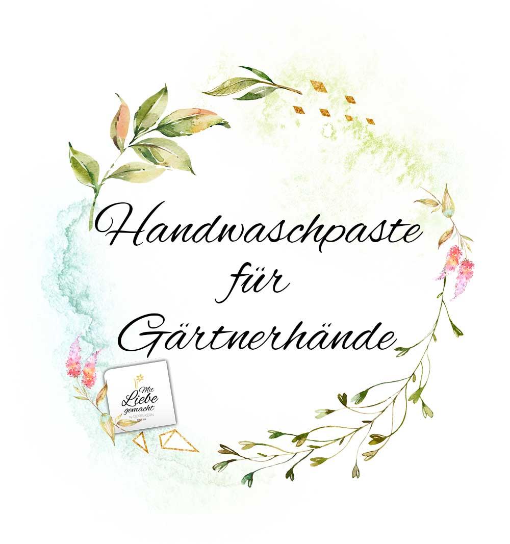 Handwaschpaste – Etikette