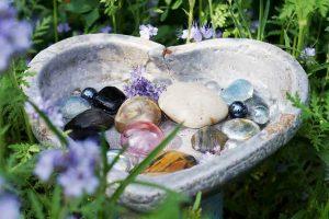 Wasserplatz für Bienen und andere Insekten