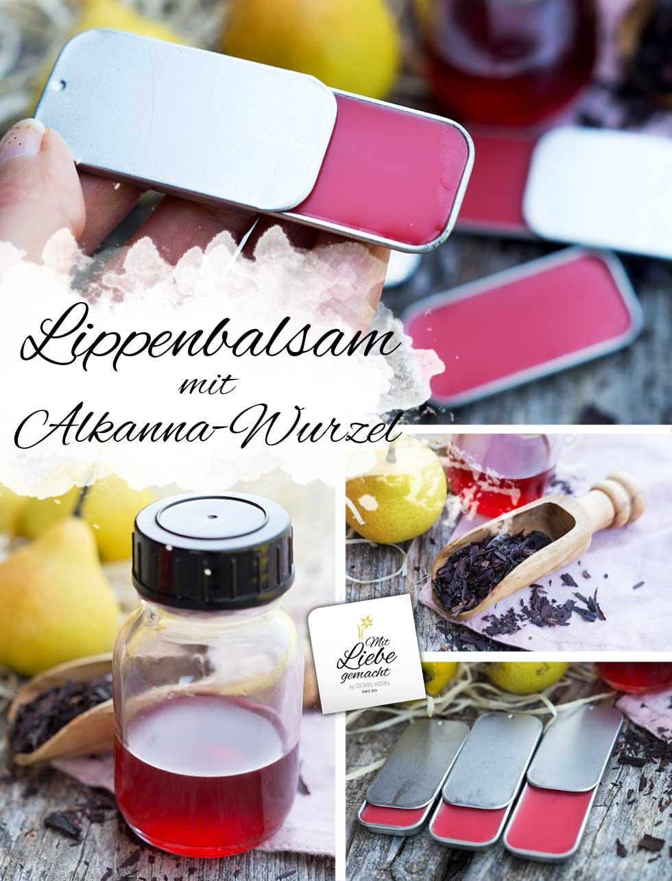 Lippenbalsam ganz einfach und natürlich gefärbt!