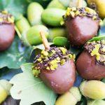 Eichelpralinen - köstlicher Herbst
