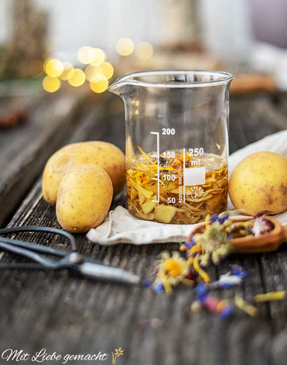 Kartoffelöl ansetzen