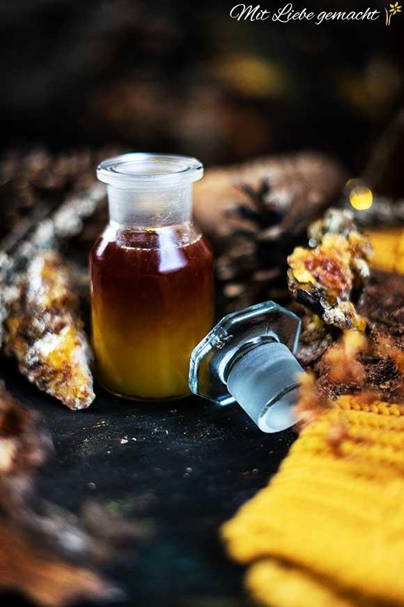 einfaches Brustöl bei Husten