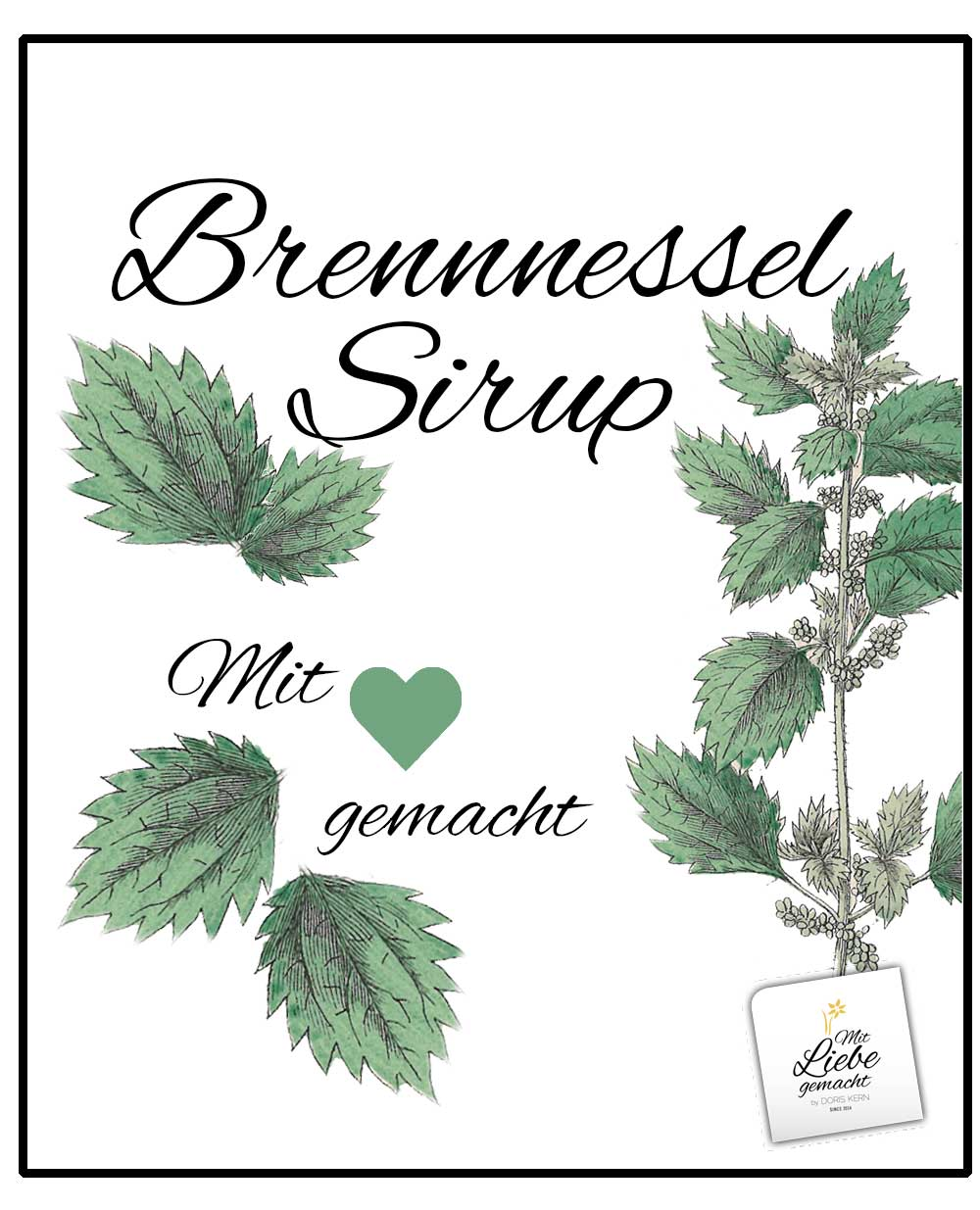 Brennnessel-Sirup