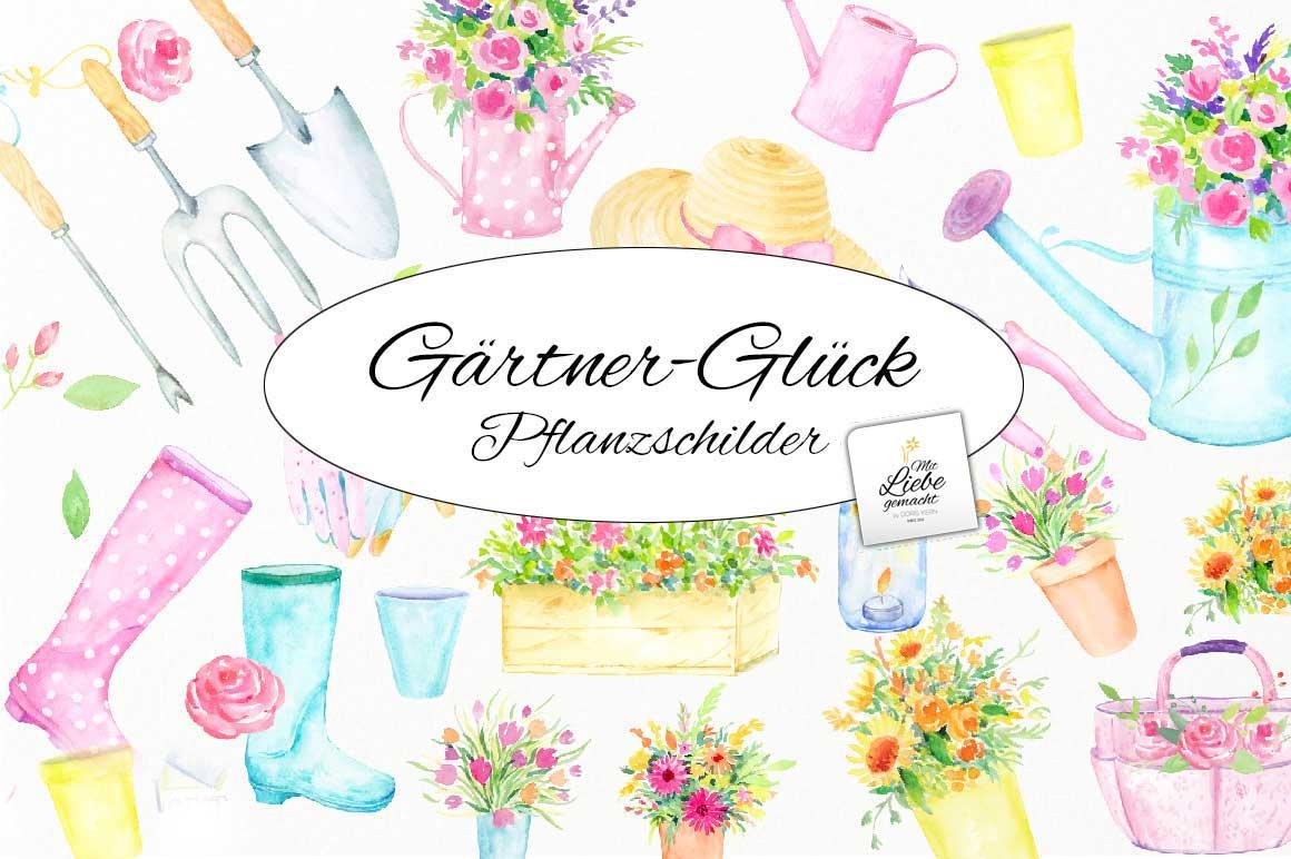 Gärtnerglück – Pflanzschilder