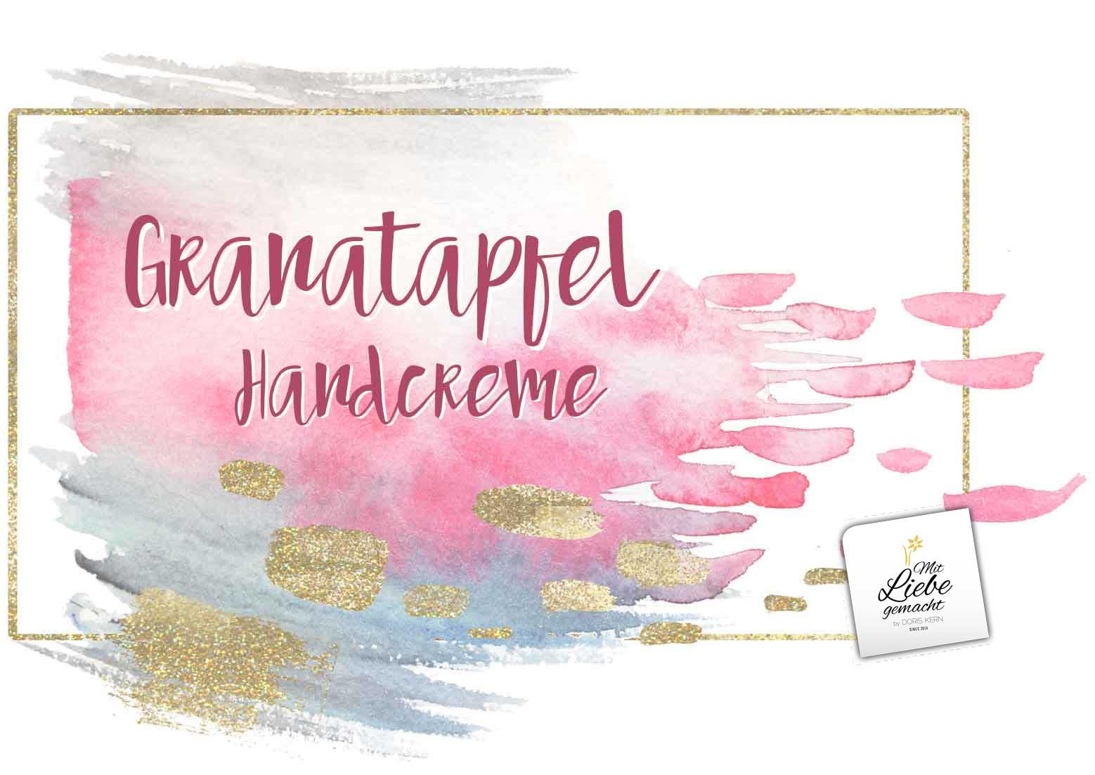 Granatapfel Handcreme