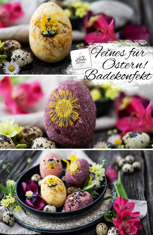 feines Badekonfekt für Ostern