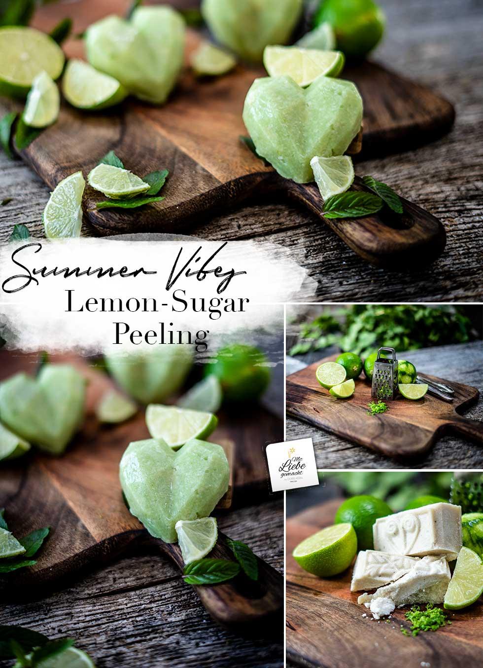 Lemon Sugar Peeling Bars