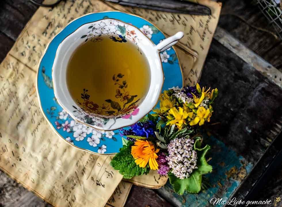 Teesträußchen