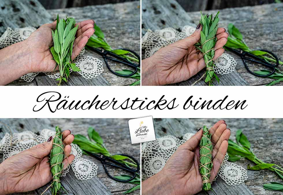 Räuchersticks binden