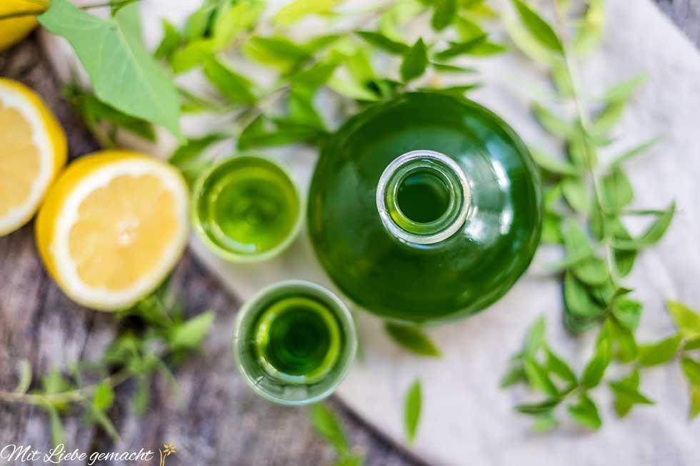duftend aromatische Zitronenverbene