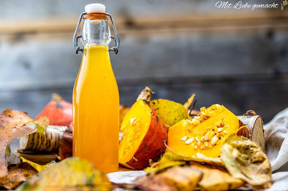 Kürbissirup – perfekt für den Herbst