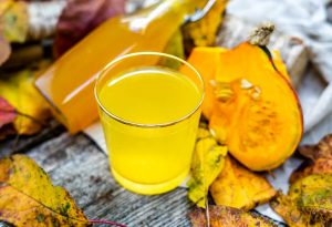 fruchtiger Kuerbissirup