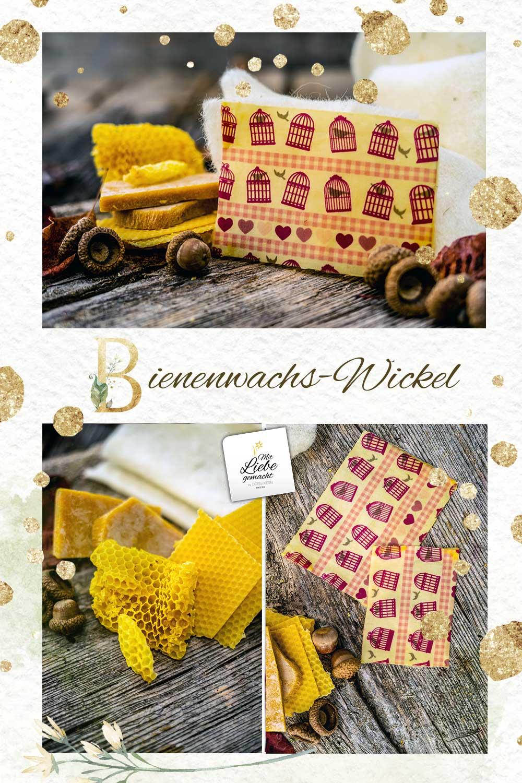 Bienenwachswickel selber machen