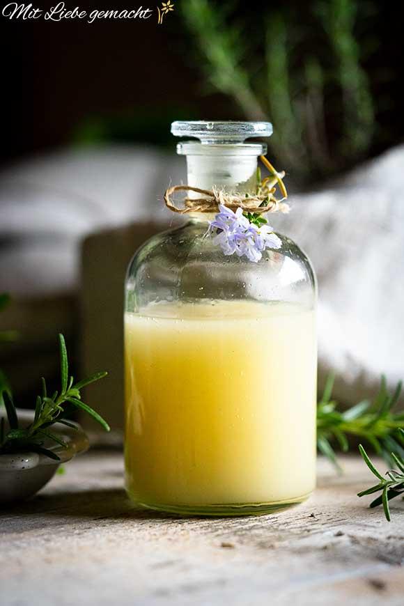 mehr Energie am Morgen - Duschgel mit ätherischen Ölen selber machen