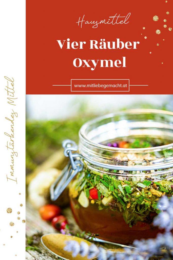 Vierräuber Essig oder Oxymel zur Immunstärkung