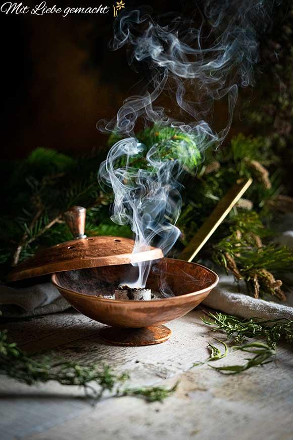 wunderbarer Rauch - Räuchermischung mit Kräutern