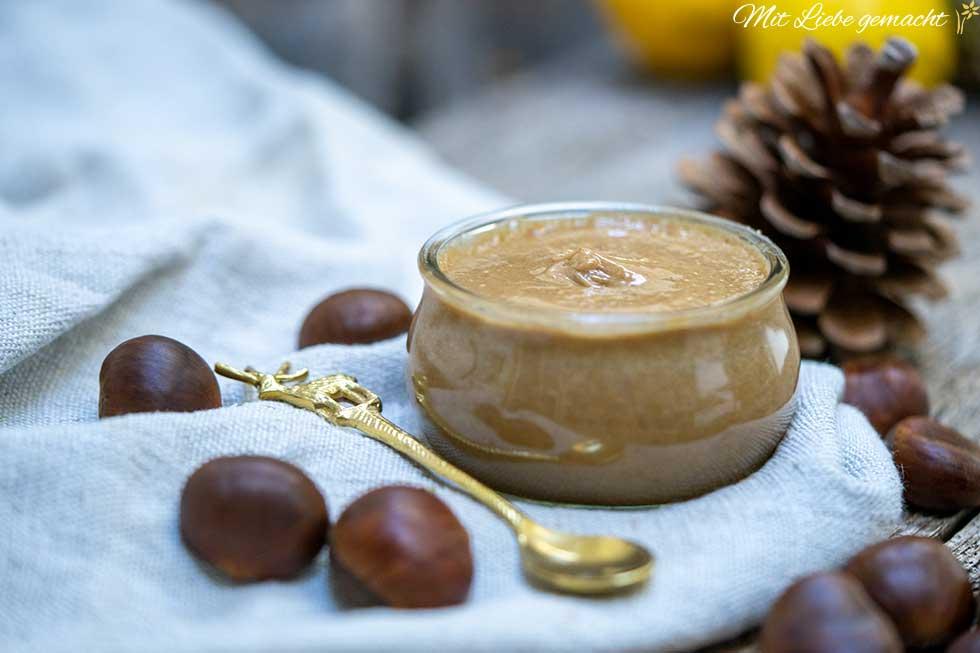 Maronimehl und Honig als wertvolles Hausmittel
