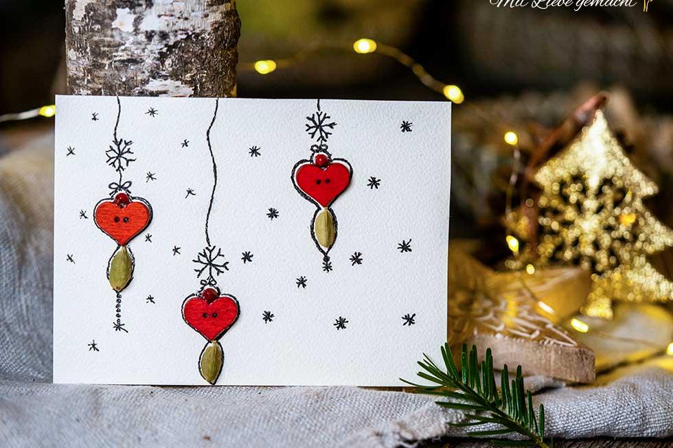 persönliche, duftende Weihnachtskarten selber machen