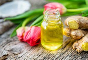 Detox Körperöl mit Ingwer