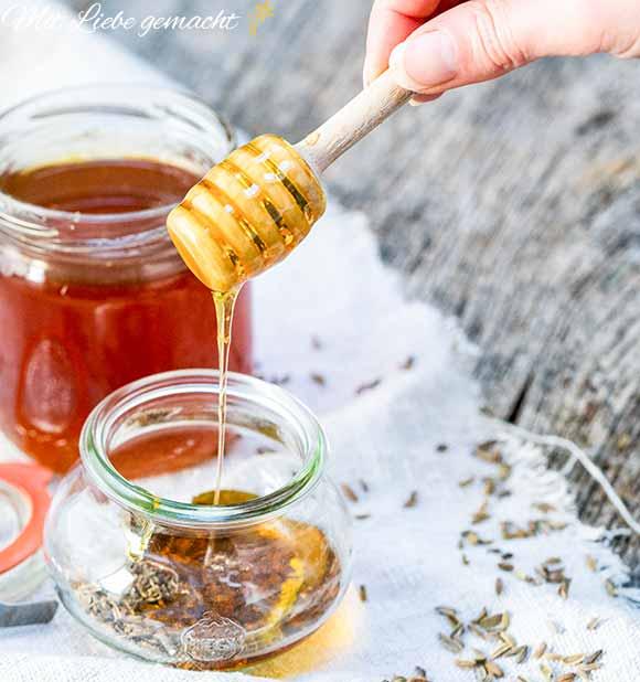 Honig und Fenchel als Hausmittel